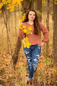 Malayna Hickman Senior 2021-6