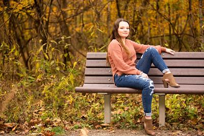 Malayna Hickman Senior 2021-20