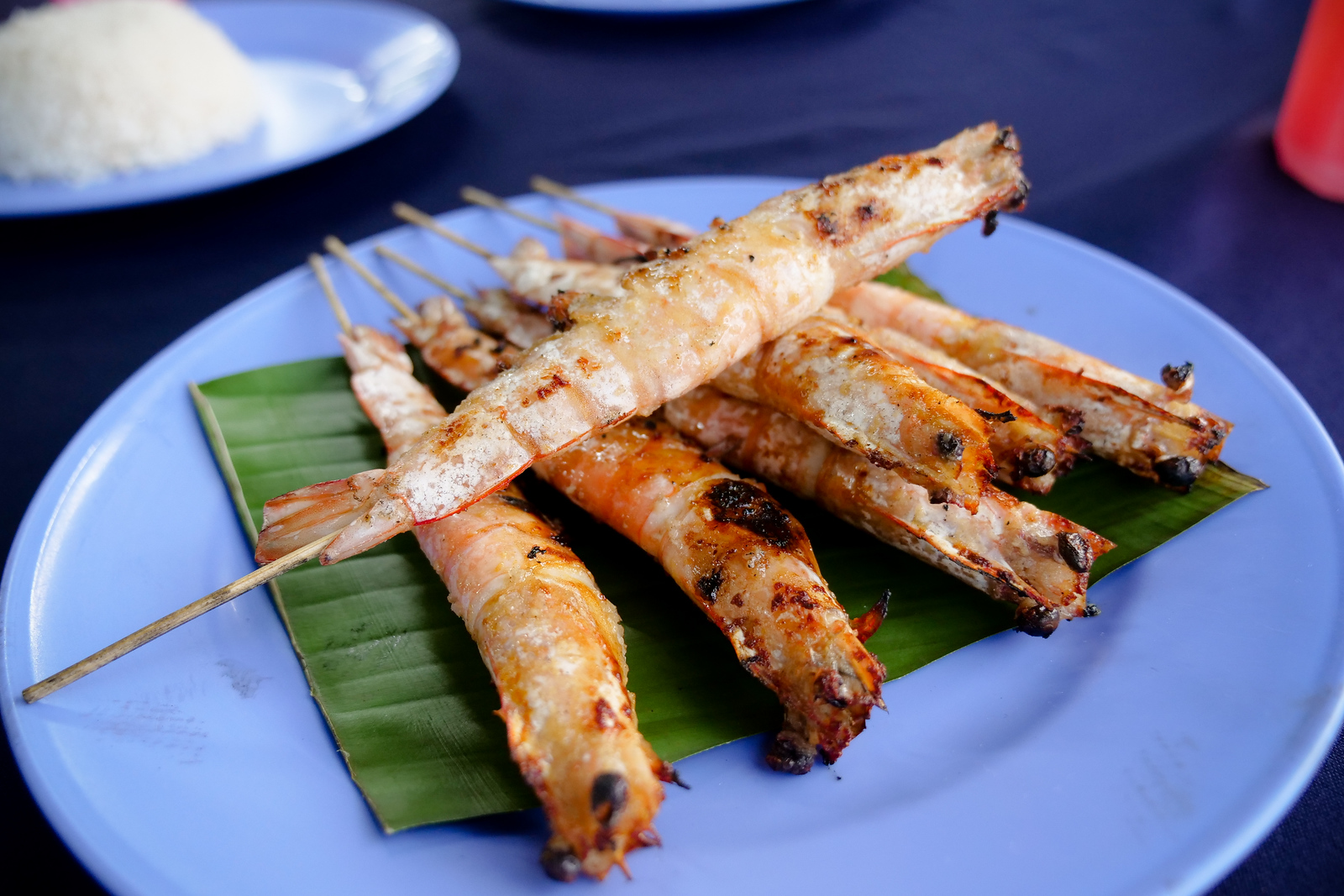 A must-order dish at Ikan Bakar Hj Musa, they are tender, wonderfully easy to peel, and this dish is bound to be gone in a hurry
