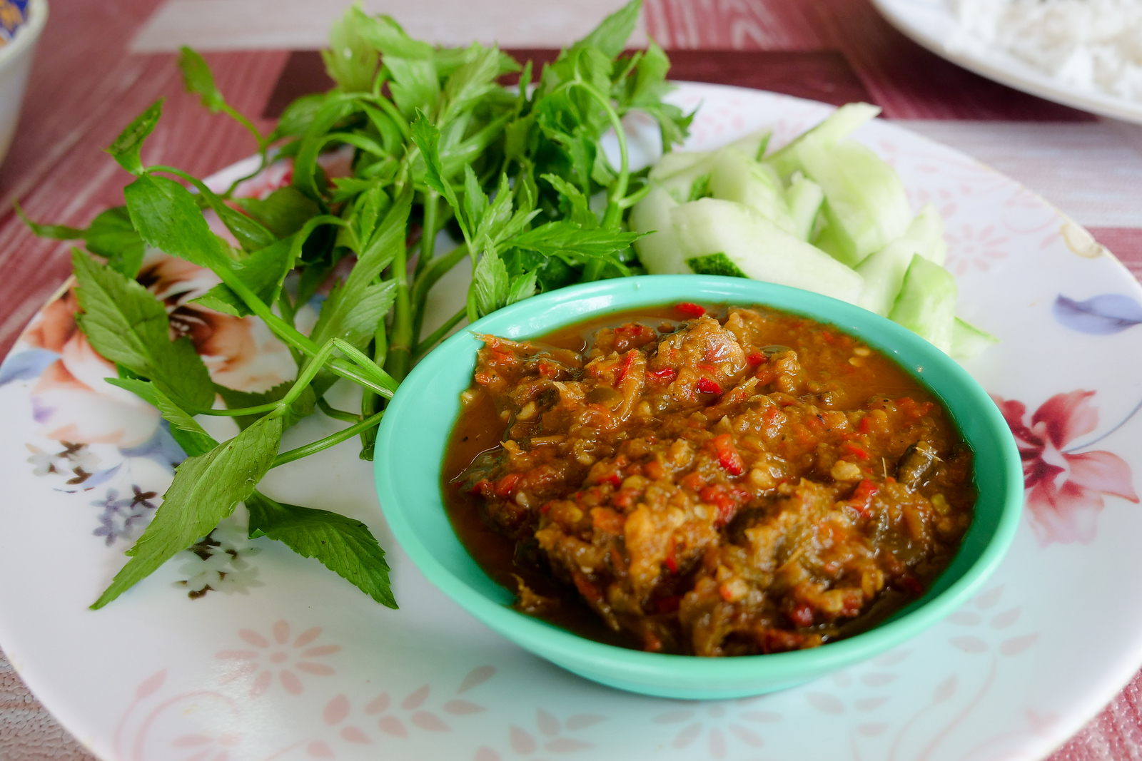 Incredibly delicious sambal, so full of flavor, this dish was gone in a hurry