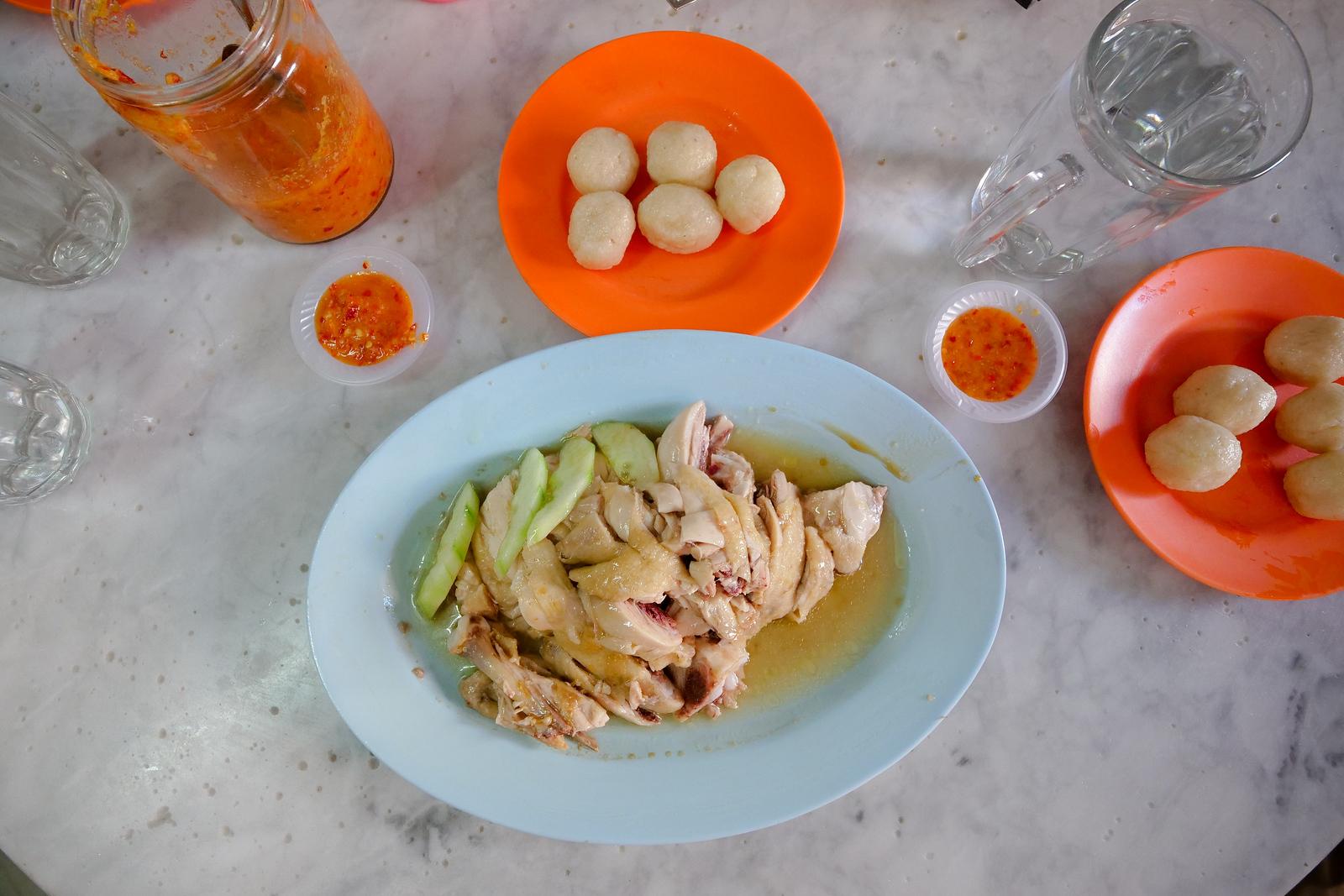 Traditional recipes continue at this family-owned restaurant, Kedai Kopi Chung Wah in Melaka, Malaysia