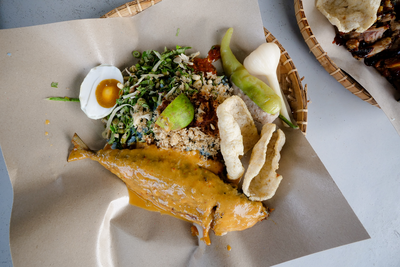 Variety is the spice of life, and nowhere can you find a single dish that expresses this saying more than a plate of Malay-style Nasi Kerabu