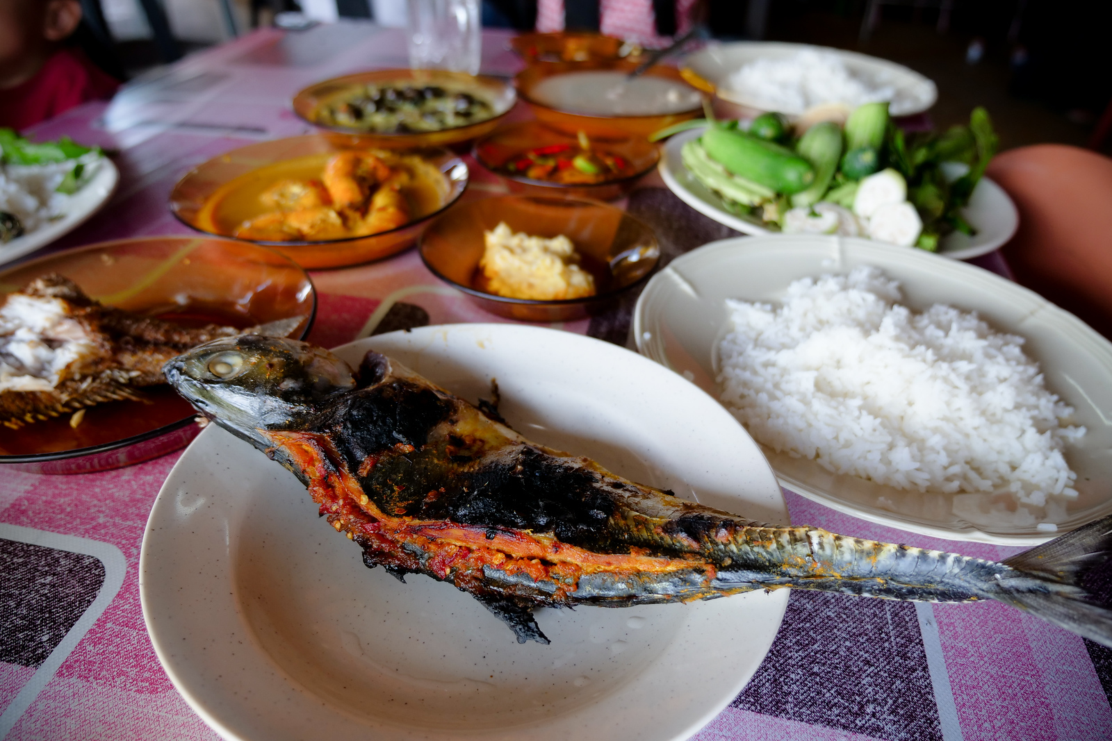This is a new way to make Ikan Bakar, and don't miss trying their version Kelatan-style
