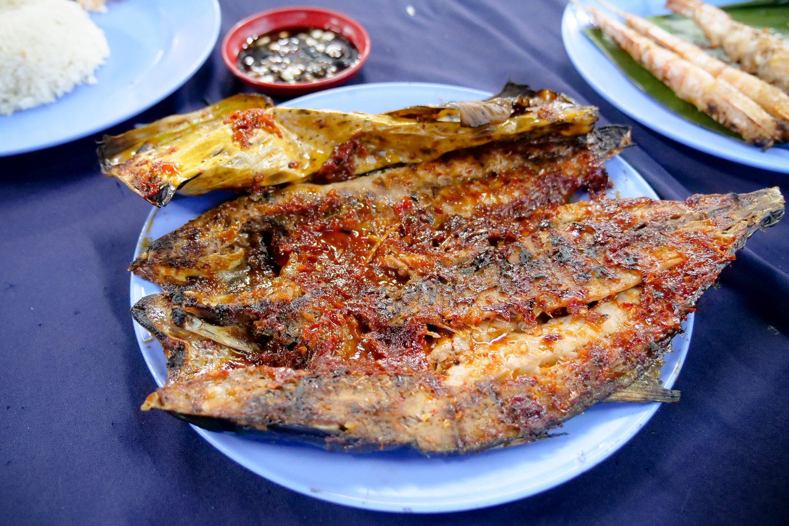 Ikan Bakar is the most popular style to have your fish cooked here, and like the name, its the dish for which this restaurant is known
