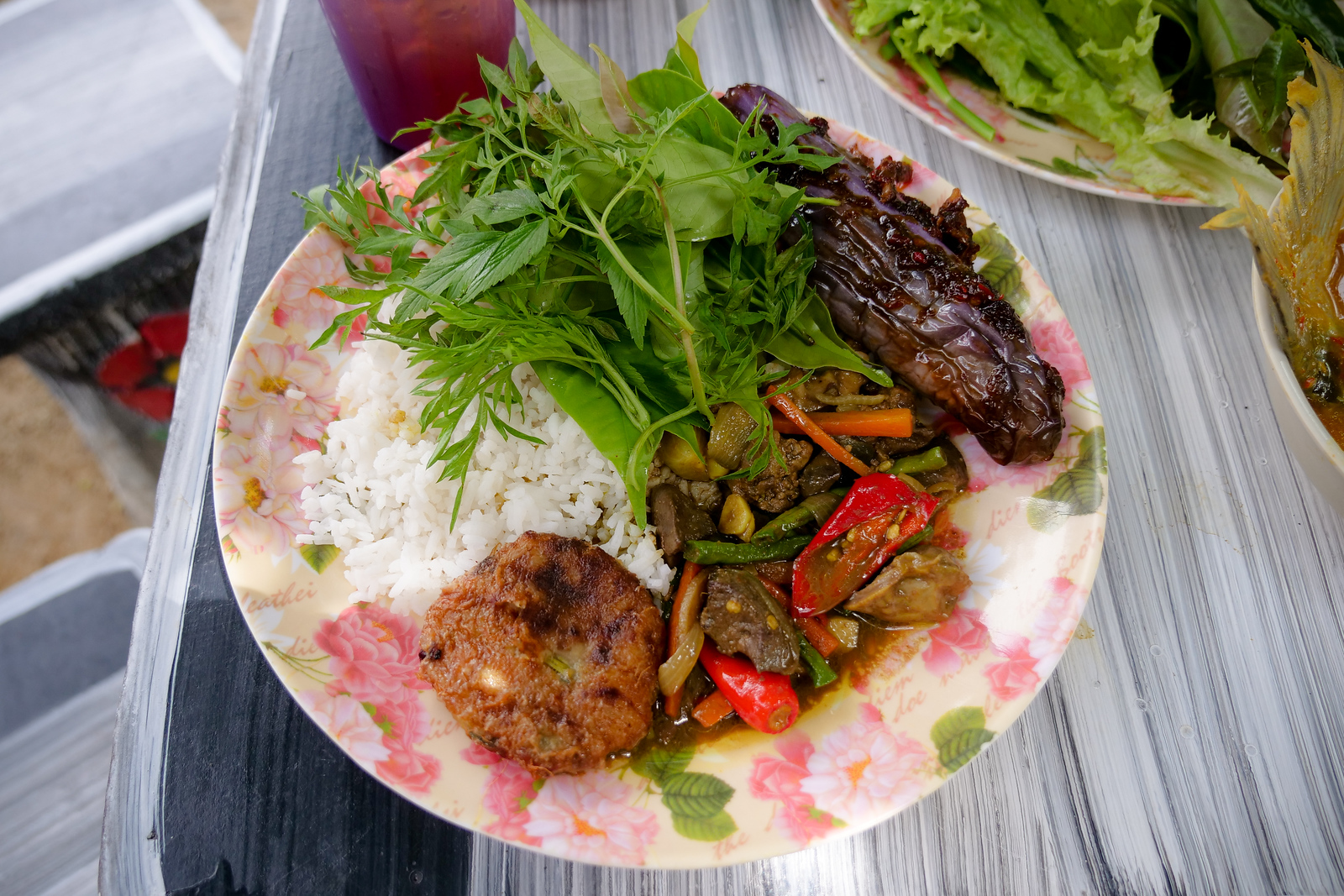 Amazing flavor combinations possible in this perfect example of home-style Malay food