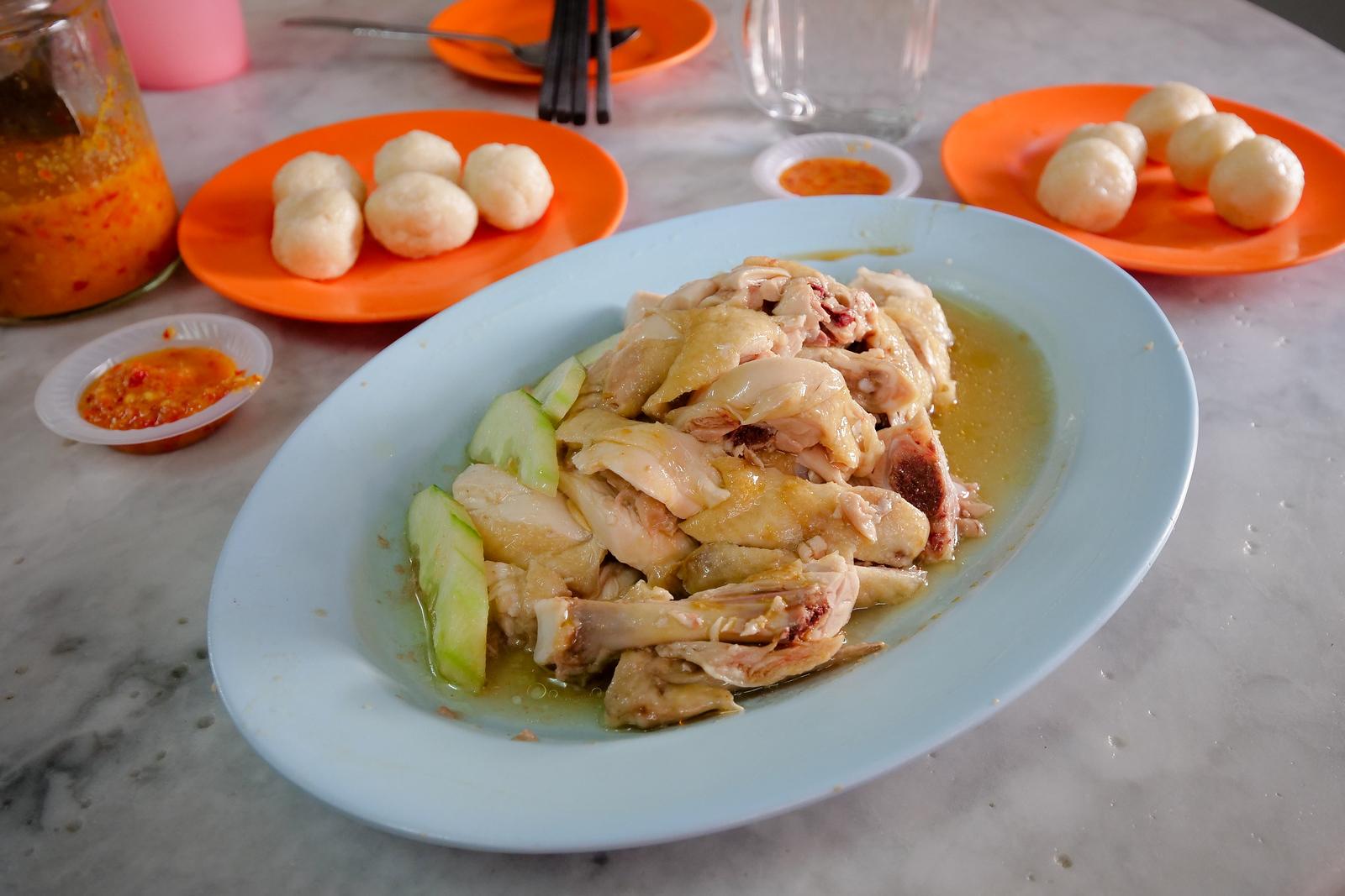 Chicken Rice at Kedai Kopi Chung Wah
