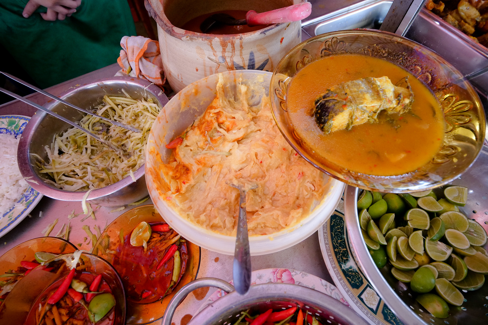 One of the most delicious condiments the world has ever seen, Tempoyak is only made even better when stirred into a sour, salty, dish of budu and chili