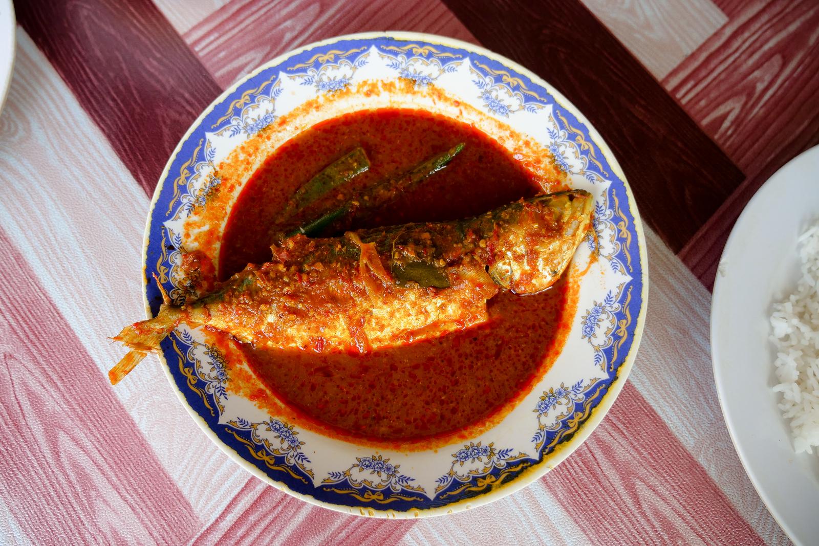 Best Restaurants in Melaka - Asam Pedas Pak Man