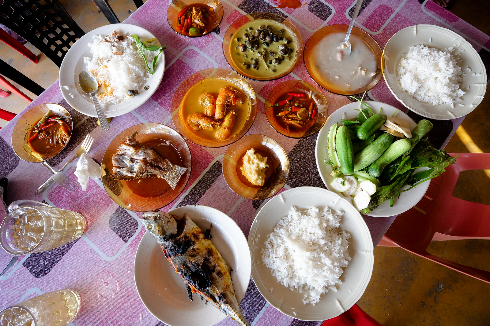 Get hungry for every meal you will eat in Kelantan! Their food is fresh, vibrant, and quite healthy as well!