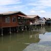 Waterdorpen in Sandakan / Watervillage in Sandakan