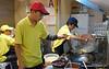 Cooking Penang char koay in Kuala Lumpur, Malaysia in September 2012