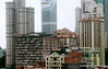 Skyscrapers and apartment blocks in Kuala Lumpur, Malaysia in September 2012