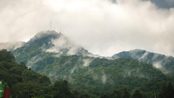 Gunung Berinchang from below, Cameron Highlands, Malaysia