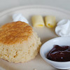 Amazing scones and home-made strawberry jam at the Lord's Cafe in Tanah Rata