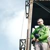At the observation tower at Mount Brinchang