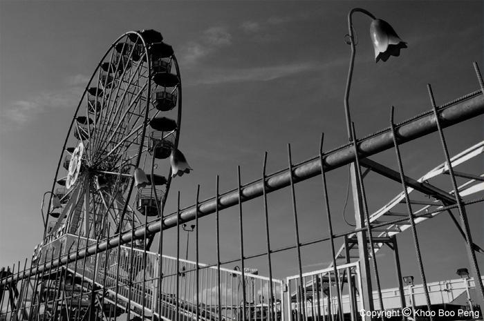 Park inside parameter fence