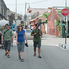 Braving the George Town heat