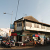 The busy intersection at Lebuh Chulia and Lebuh Carnavaron