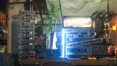 """""""Mexican food"""" restaurant at the Hotel Blue Diamond, Georgetown Penang, Malaysia"""