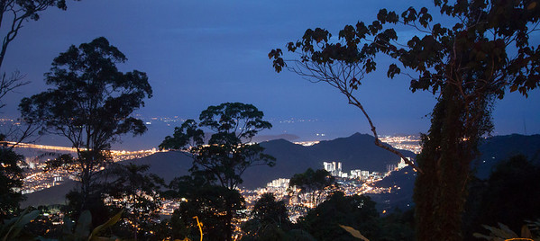 View from Penang Hill, Penang, Malaysia