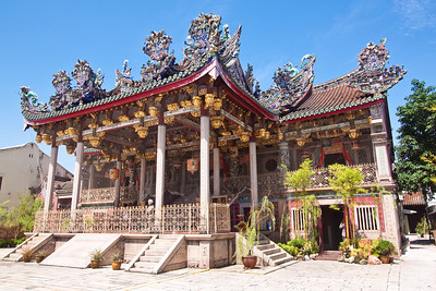 Khoo Kongsi clanhouse, Georgetown, Penang, Malaysia
