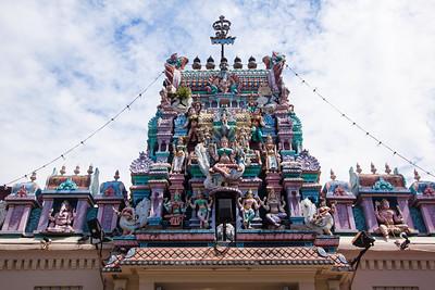 Hindu temple, Georgetown, Malaysia