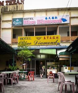 "The ""fabulous"" Hotel Blue Diamond, Georgetown Penang, Malaysia"