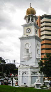 Queen Victoria Memorial Clocktower, Georgetown, Malaysia