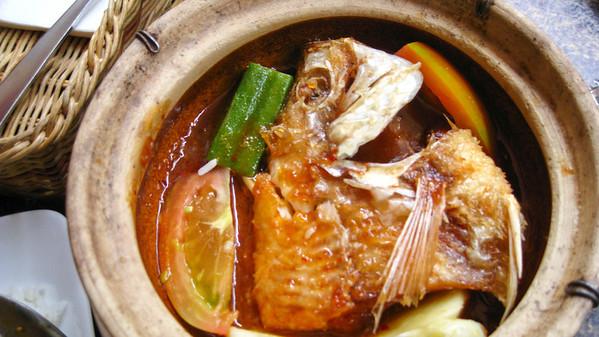 Fish Head Soup — Kota Kinabalu, Sabah, Borneo, Malaysia