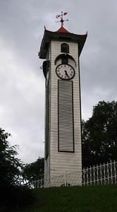 Atkinson Clock Tower — Jumping spider — Kota Kinabalu, Sabah, Borneo, Malaysia