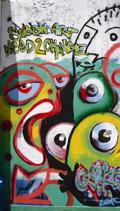 Street art — Kota Kinabalu, Malaysian Borneo