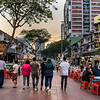 Jalan Alor at Sunset
