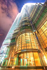 Petronas Twin Towers at night, Kuala Lumpur, Malaysia