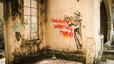 Street art, Kuala Lumpur, Malaysia