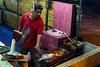 Grilled seafood satay, Pantai Cenang