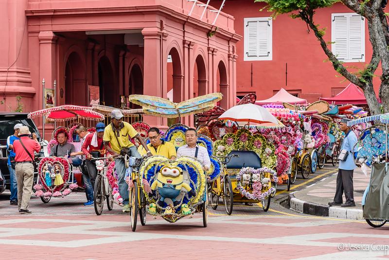 Tuk-Tuks of Melaka