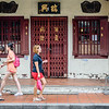 Walking Down Jonker Street