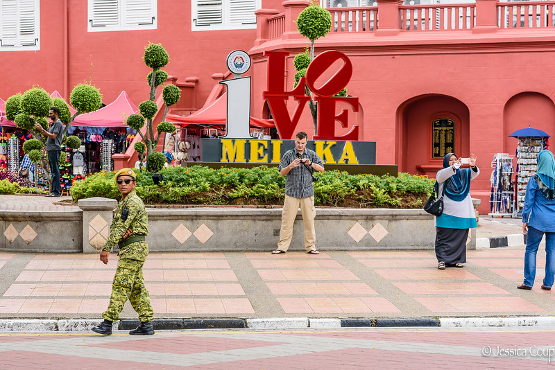 Guarding Melaka