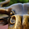 "The nose of a bull sculpture just off of Jonker Street - Melaka, Malaysia.  This is a travel photo from Melaka, Malaysia. <a href=""http://nomadicsamuel.com"">http://nomadicsamuel.com</a>"