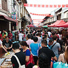 Busy Chinese New Year week end on Jonker Street