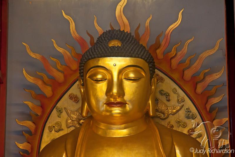 Buddha in Kek Lok Si Temple.