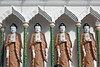 Line of Buddhas in Kek Lok Si Temple.