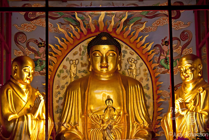 Buddhas in Kek Lok Si Temple.