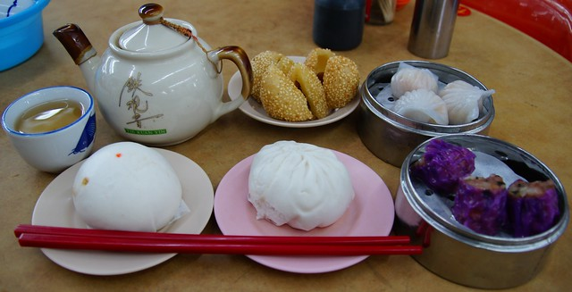 Dim sum and Chinese tea for breakfast in Georgetown