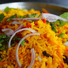 "Delicious biryani rice for lunch - George Town, Malaysia.  This is a travel photo from Penang, Malaysia. <a href=""http://nomadicsamuel.com"">http://nomadicsamuel.com</a>"