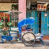 Blue Trishaw