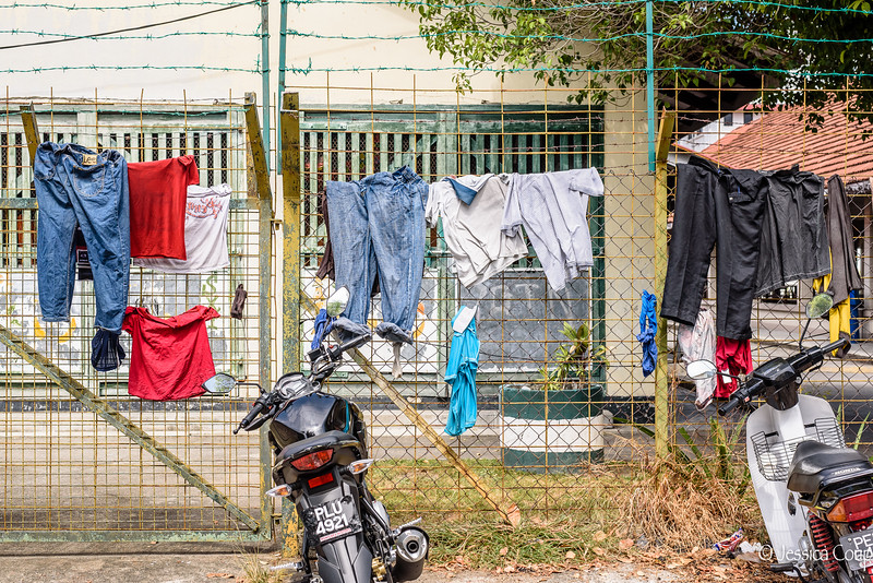 Laundry on the Gate