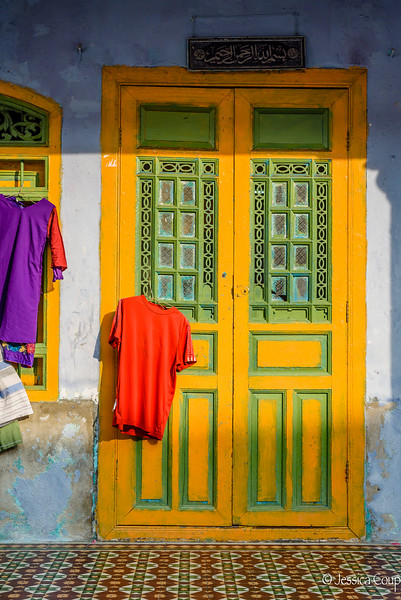 Sunlight on the Doorway