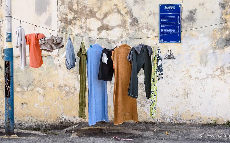 Laundry and Graffiti