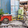 Trishaw and a Shrine